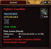 Fighter's Gauntlets