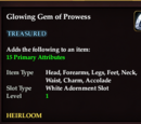 Glowing Gem of Prowess