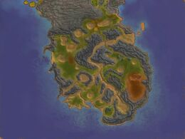 Map steppes