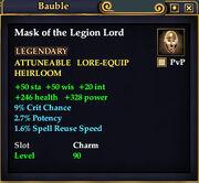 Mask legion lord