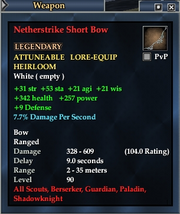 Netherstrike Short Bow