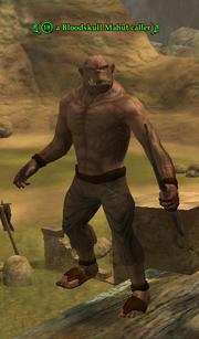 A Bloodskull Mahut caller