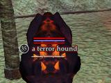 A terror hound