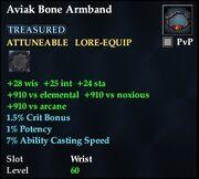 Aviak Bone Armband