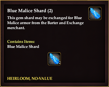 Blue Malice Shard (2) | EverQuest 2 Wiki | FANDOM powered by