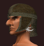Dexterous Tanned Leather Skullcap (Equipped)