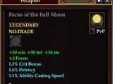 Focus of the Full Moon