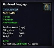 Hardened Leggings
