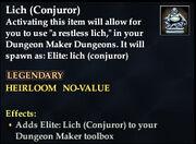Lich (Conjuror)