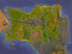 Map antonica