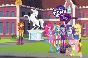 EquestriaGirls iTunes Movie Trailers background