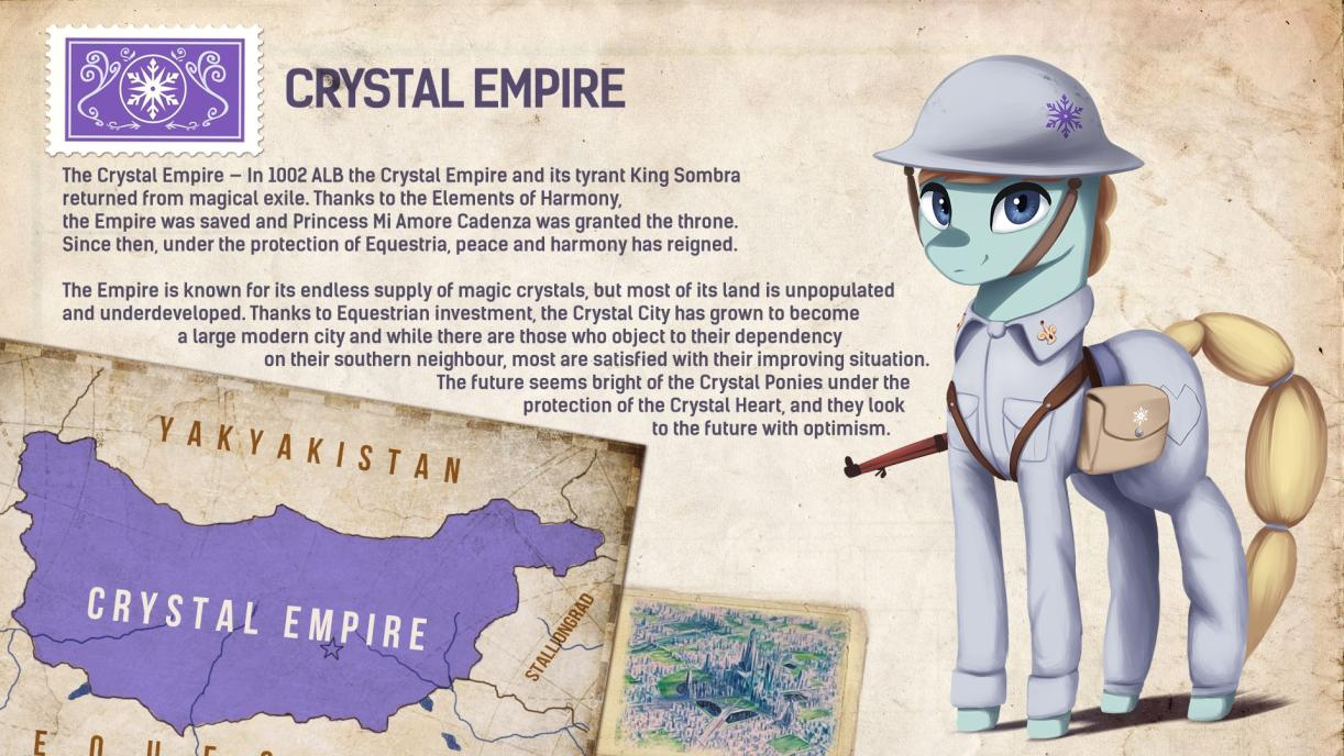 Crystal Empire | Equestria at War Wiki | FANDOM powered by Wikia