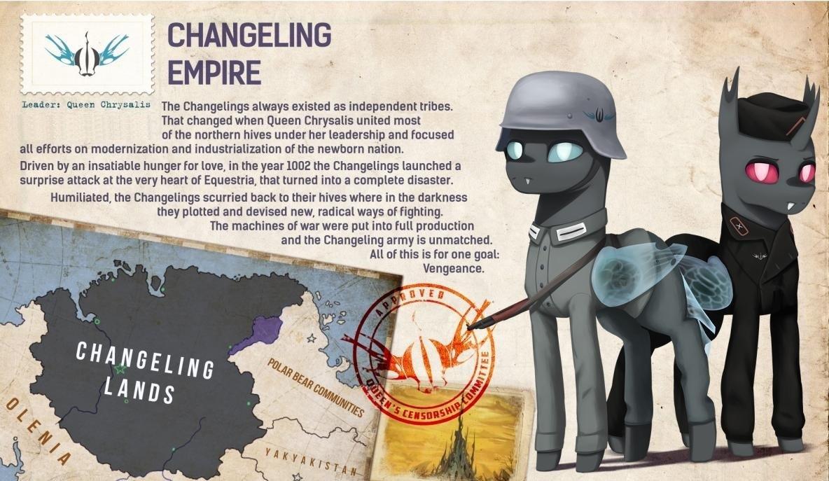 Changeling Lands | Equestria at War Wiki | FANDOM powered by