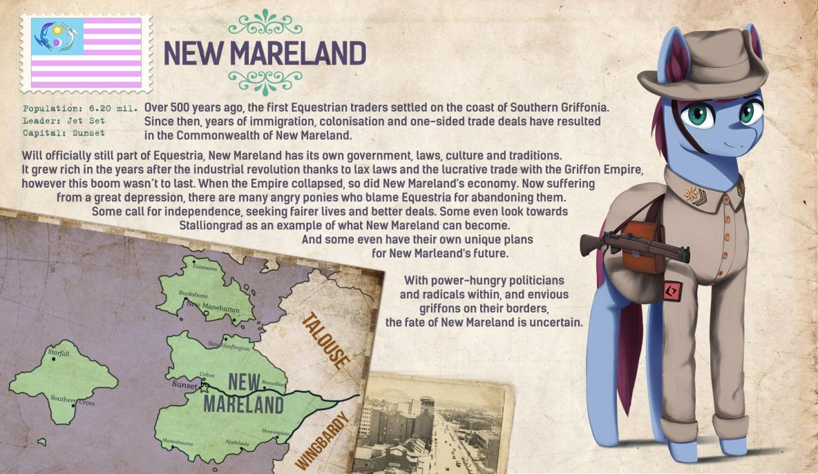 Commonwealth of New Mareland | Equestria at War Wiki