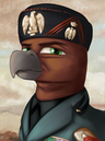 Portrait wingbardy giulio beakolini