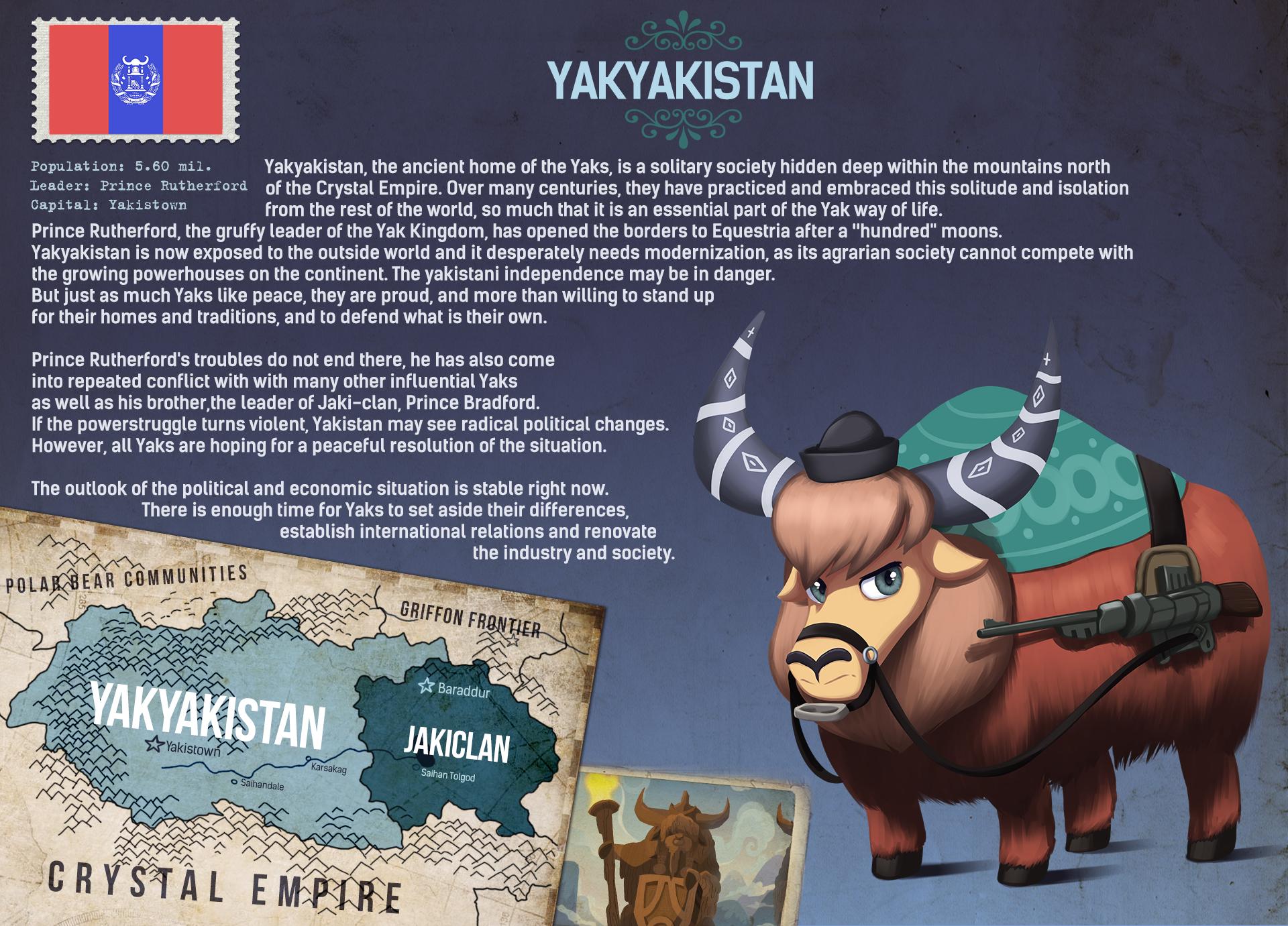 Kingdom Of Yakyakistan Equestria At War Wiki Fandom Powered By Wikia