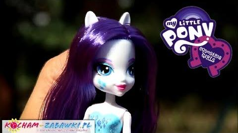 Rarity Doll Lalka Rarity - Equestria Girls - My Little Pony - A3994 A4102 - Recenzja