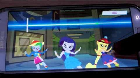 Equestria Girls Dance Game Gameplay (My Little Pony Gameloft App) (Android)
