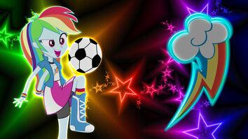 Equestria girls rainbow dash wallpaper by macgrubor-d6gf4bg