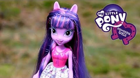 Twilight Sparkle Doll Lalka - Equestria Girls - My Little Pony - A3994 A4097 - Recenzja