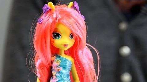 Fluttershy Doll with Accessory Lalka Fluttershy z Akcesoriami - Equestria Girls - My Little Pony