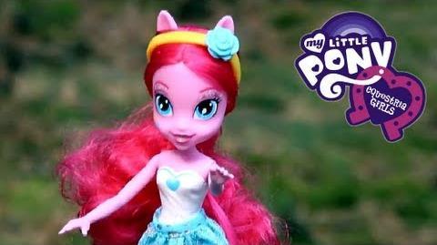 Pinkie Pie Doll Lalka Pinkie Pie - Equestria Girls - My Little Pony - A3994 A4098 - Recenzja