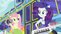 Fluttershy and Rarity performing together SS13