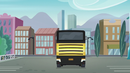 Crystal Prep bus drives toward Canterlot High EG3