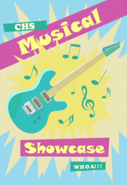 CHS Musical Showcase poster EG2