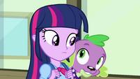 Twilight talking to Spike EG
