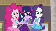 EG BT2 Rarity, Twilight i Pinkie