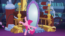 Pinkie cartwheels past the mirror EG2