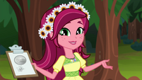 """Gloriosa """"go over some camp safety rules"""" EG4"""