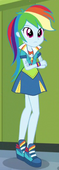 EG3 Sukienka Rainbow na przyjęciu powitalnym dla Shadowbolts