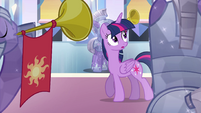 Twilight enters the throne room EG