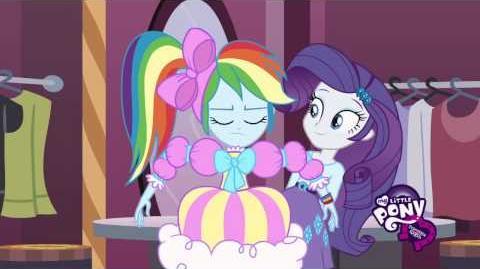 Equestria Girls Conoce a Rarity