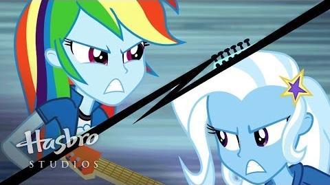 "MLP Equestria Girls - Rainbow Rocks klip promocyjny - ""Guitar Centered"""