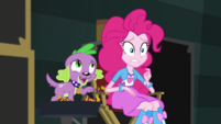 Spike suggests continuing the cupcake fountain search EGS2