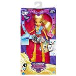 Friendship Games School Spirit Applejack doll packaging