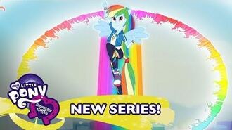 """Run to Break Free"" (ft. Rainbow Dash) Music Video 🎶 MLP Equestria Girls Season 2"