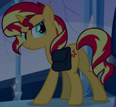 Sunset Shimmer Unicorn ID EG