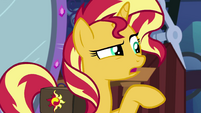 Sunset Shimmer tells Starlight to lay low EGS3