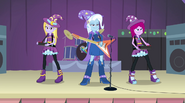 Trixie and the Illusions on stage EG2