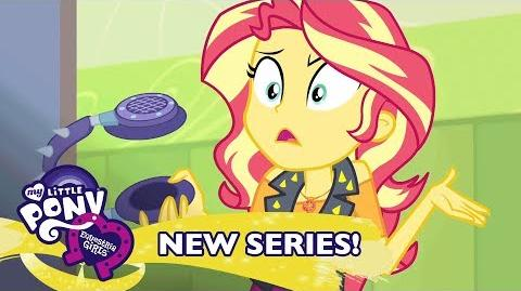 MLP Equestria Girls Season 1 - 'Sunset Shimmer is Overpowered' 🎆 Exclusive Short