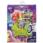 Friendship Games Sporty Style Fluttershy doll packaging