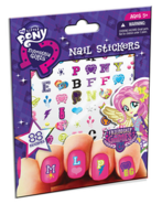 Friendship Games nail stickers