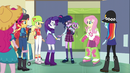 Fluttershy and Rarity recognize Puppy Spike EG3