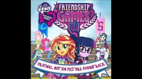 Friendship Games Soundtrack - Right There In Front Of Me (Full Song)