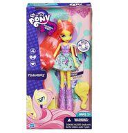 Equestria Girls Fluttershy standard doll packaging