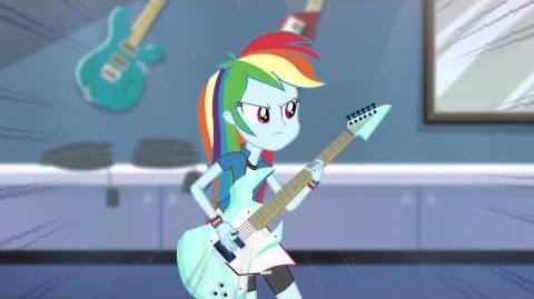 "My Little Pony Equestria Girls Latino América Video Musical ""Trucos Bajo La Manga"""